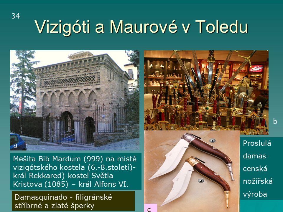 Vizigóti a Maurové v Toledu