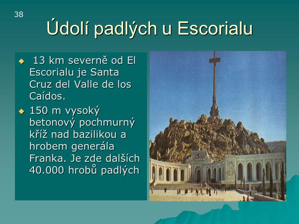 Údolí padlých u Escorialu