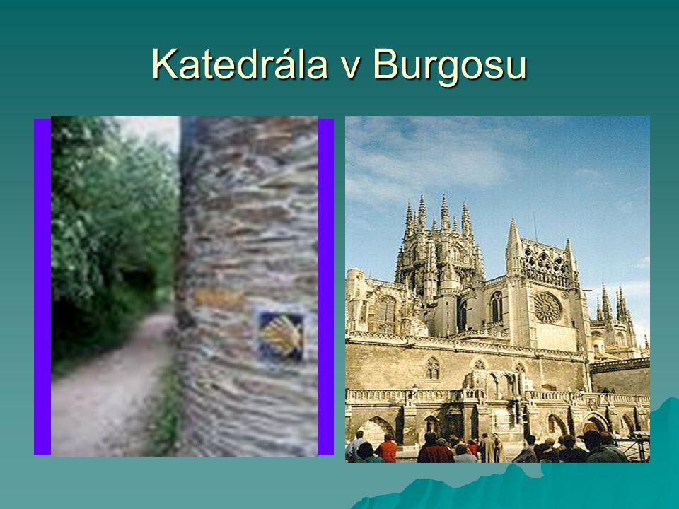 Katedrála v Burgosu