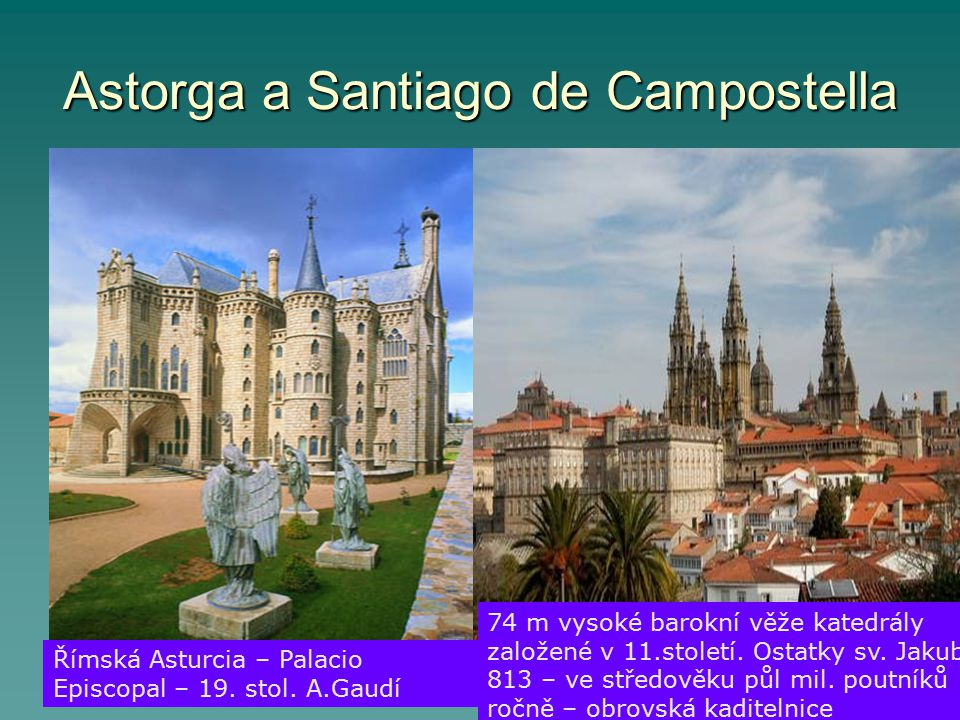 Astorga a Santiago de Campostella