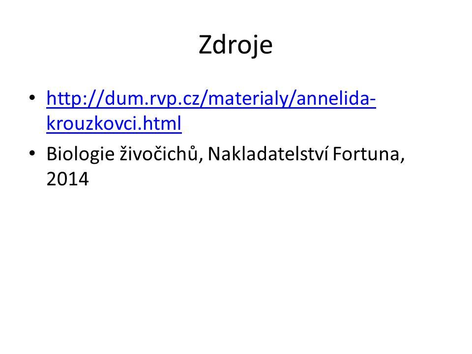 Zdroje http://dum.rvp.cz/materialy/annelida-krouzkovci.html