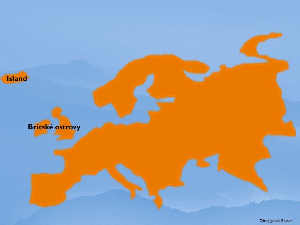 Island Britské ostrovy Zdroj: galerie E-beam