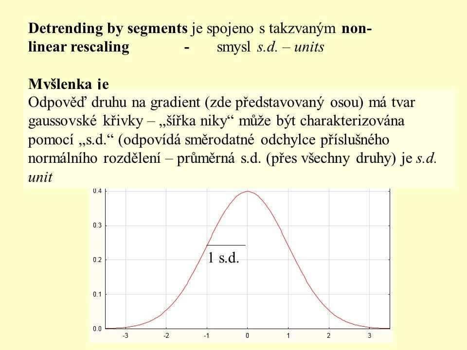 Detrending by segments je spojeno s takzvaným non-linear rescaling - smysl s.d. – units