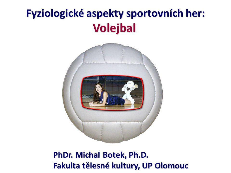 Fyziologické aspekty sportovních her: