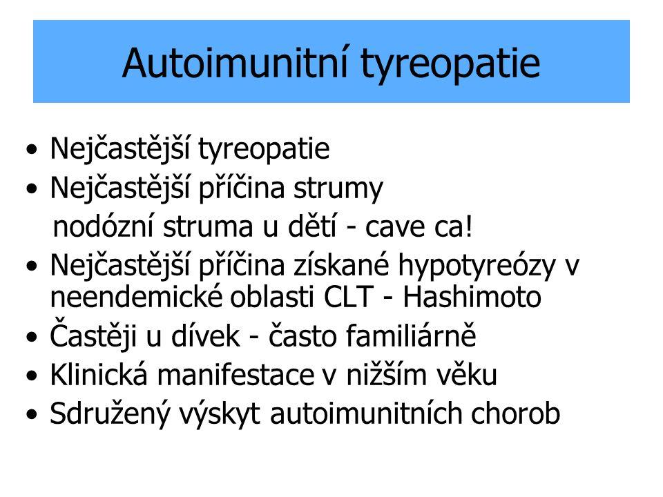 Autoimunitní tyreopatie