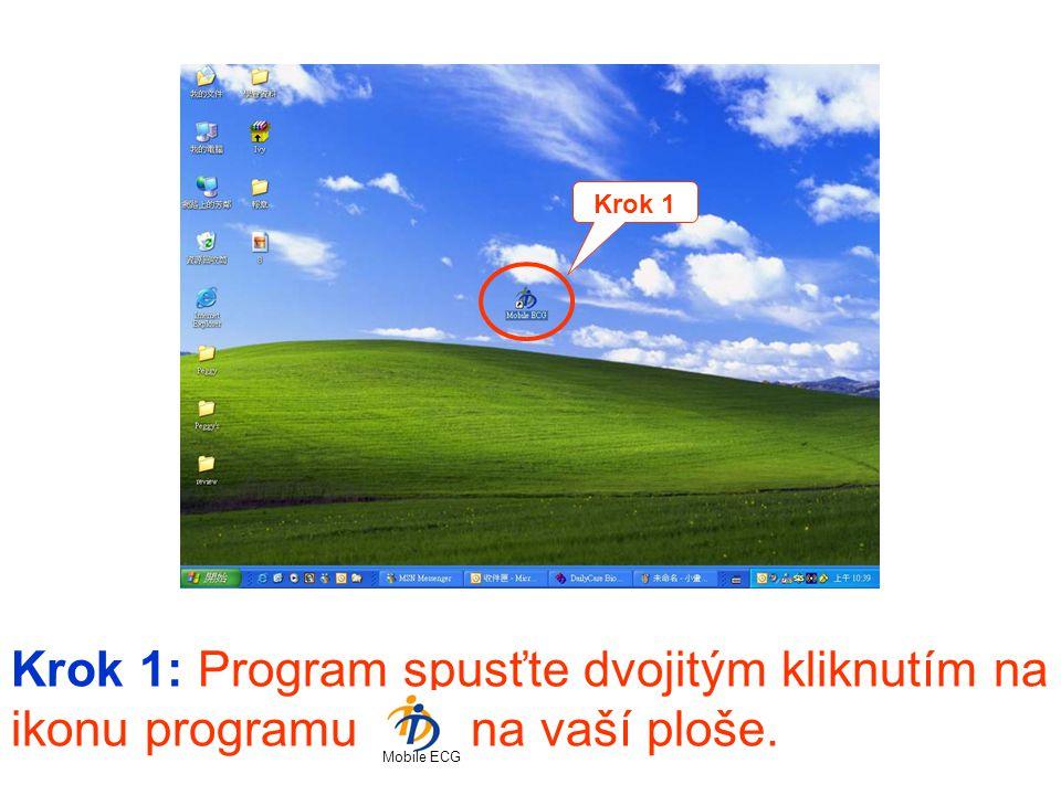Krok 1 Krok 1: Program spusťte dvojitým kliknutím na ikonu programu na vaší ploše.