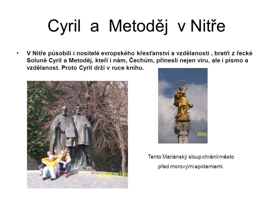 Cyril a Metoděj v Nitře
