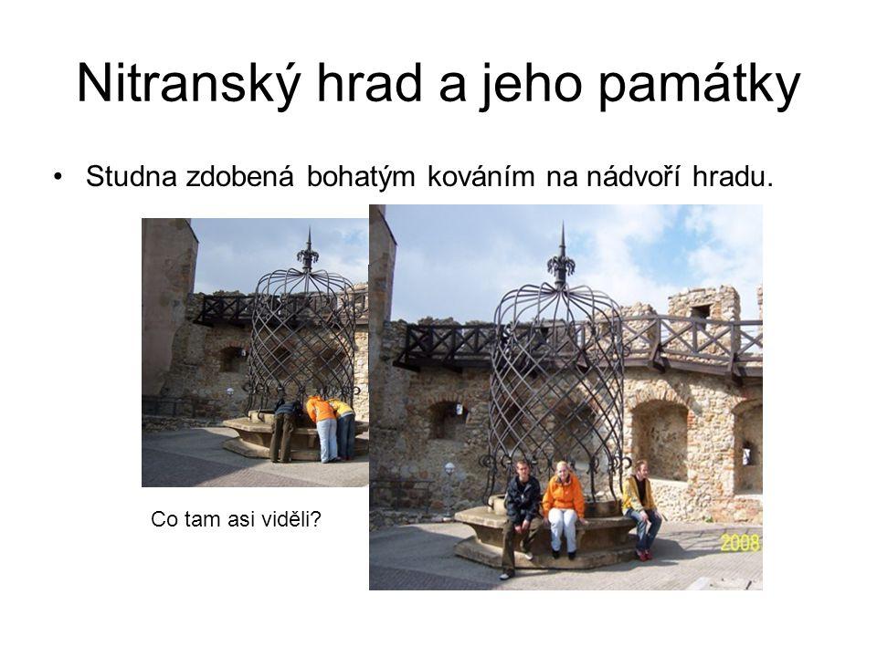 Nitranský hrad a jeho památky