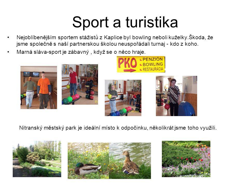 Sport a turistika