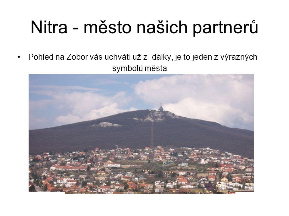 Nitra - město našich partnerů