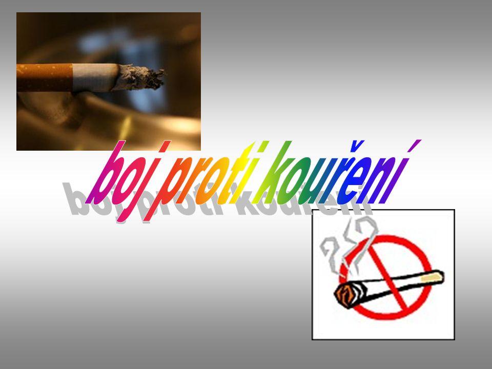 boj proti kouření