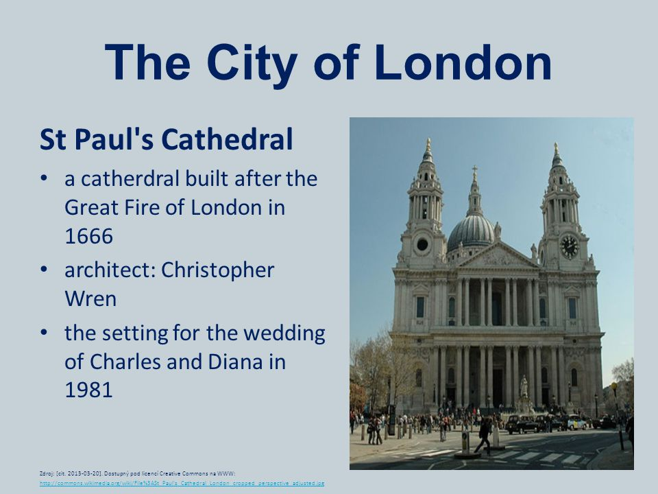 The City of London St Paul s Cathedral
