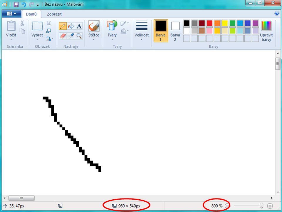 Bitmapová grafika neboli rastrová