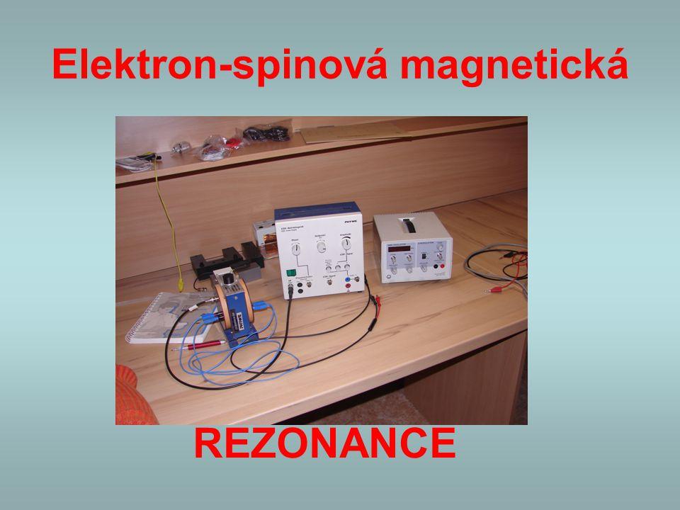 Elektron-spinová magnetická