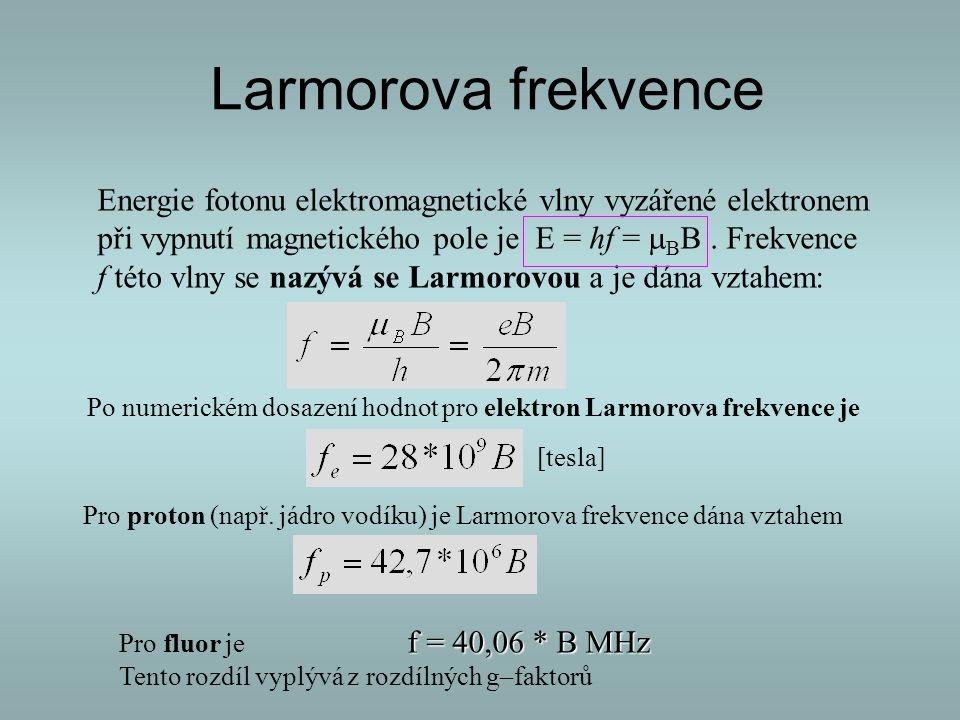 Larmorova frekvence