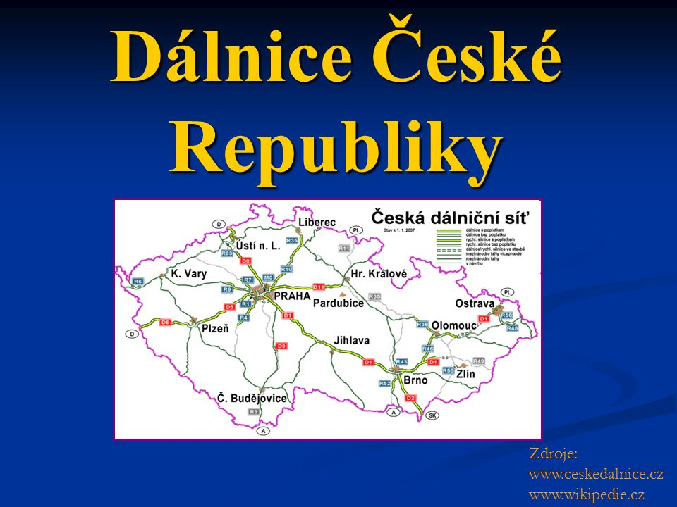 Dálnice České Republiky