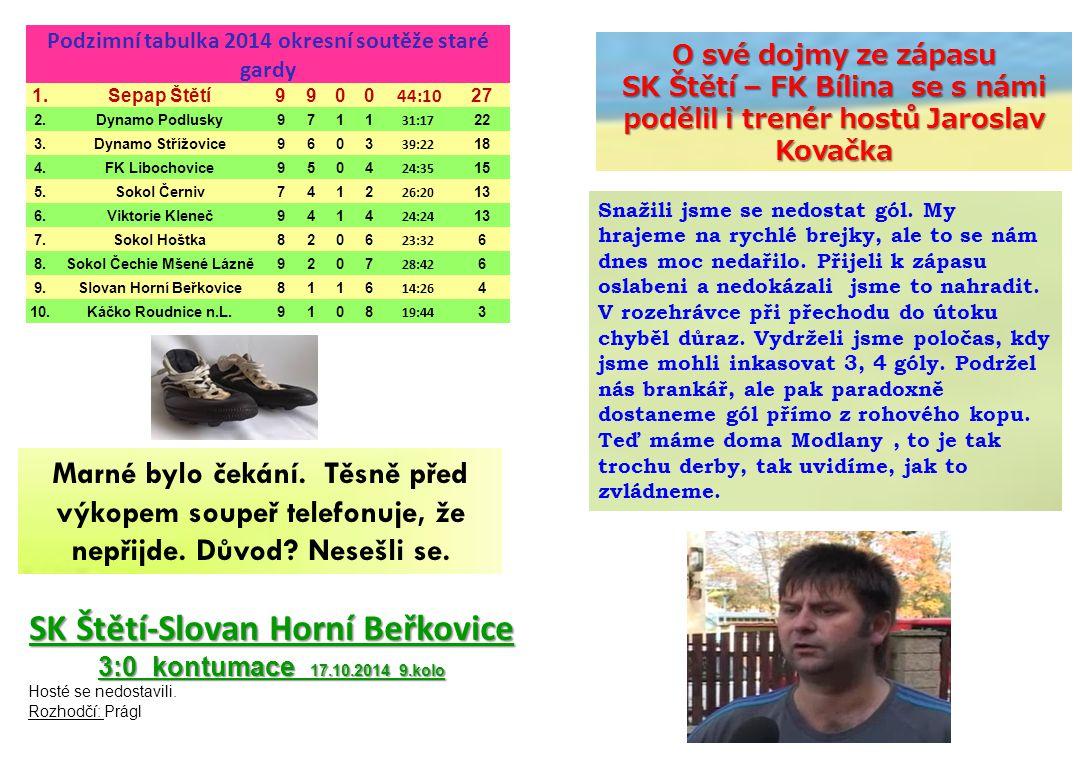 SK Štětí-Slovan Horní Beřkovice