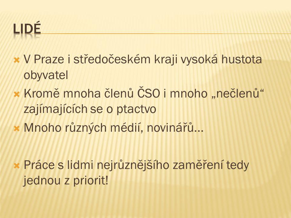 Lidé V Praze i středočeském kraji vysoká hustota obyvatel