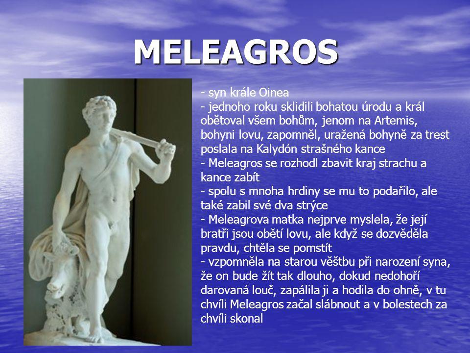 MELEAGROS syn krále Oinea