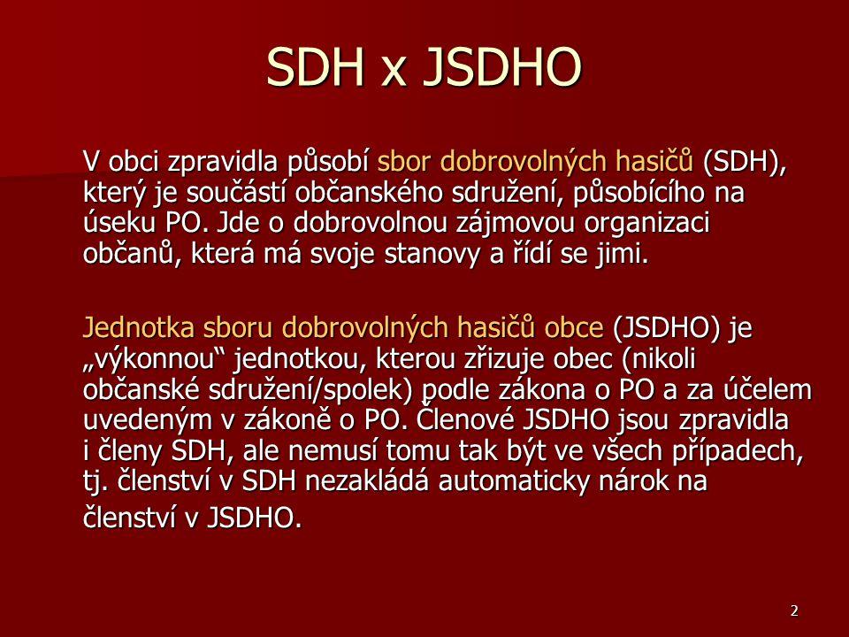 SDH x JSDHO