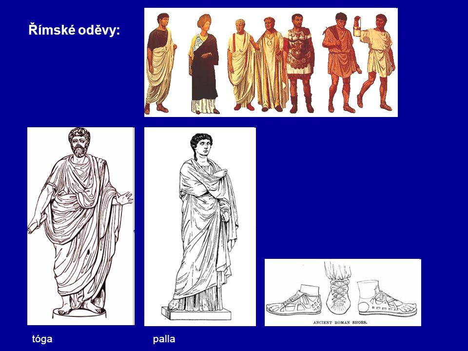 Římské oděvy: tóga palla