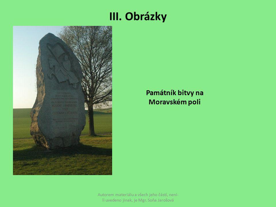 Památník bitvy na Moravském poli