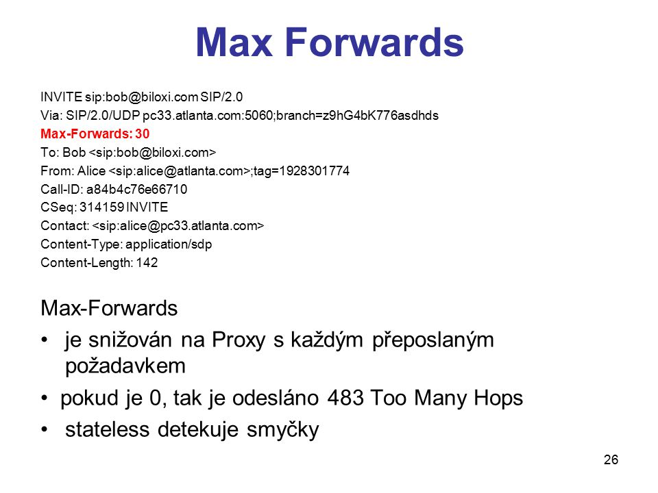 Max Forwards Max-Forwards