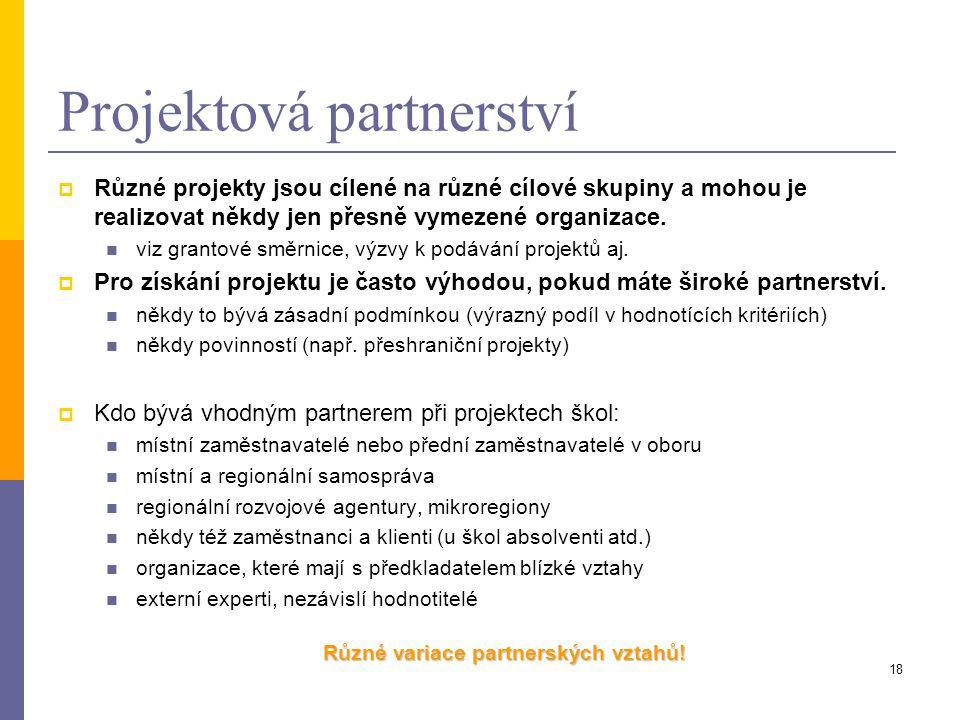 Projektová partnerství