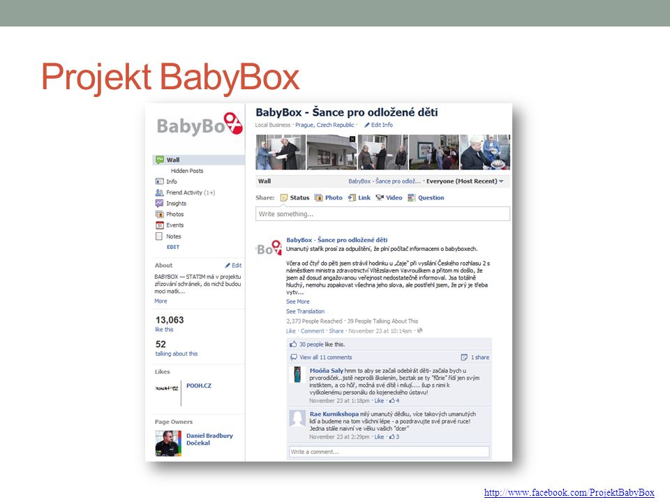 Projekt BabyBox http://www.facebook.com/ProjektBabyBox