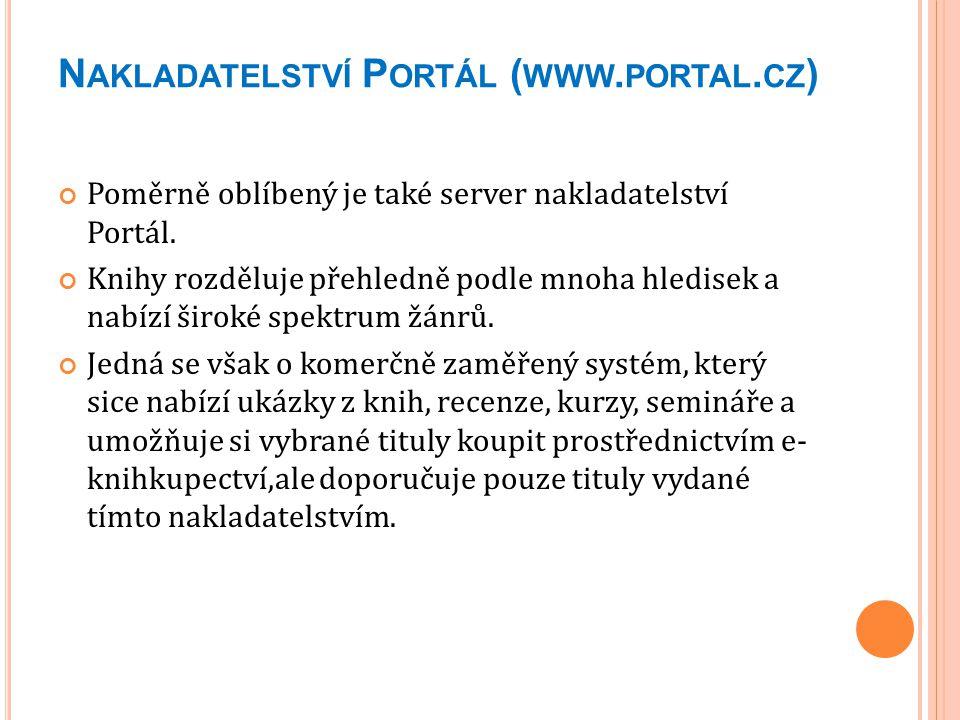 Nakladatelství Portál (www.portal.cz)