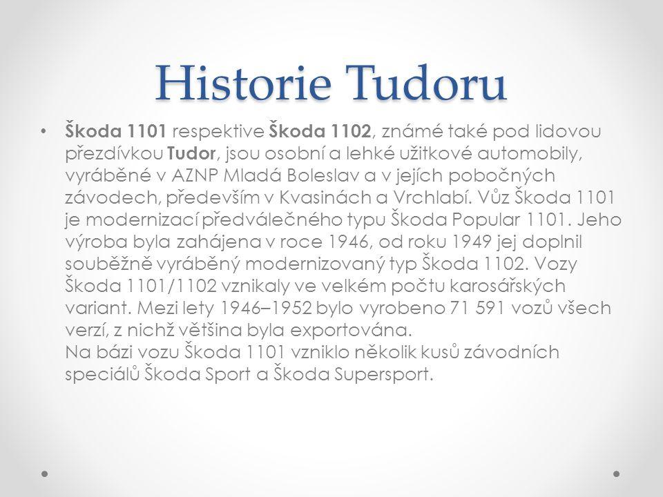 Historie Tudoru
