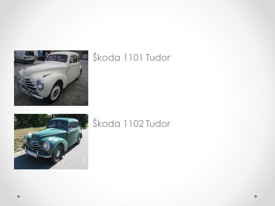 Škoda 1101 Tudor Škoda 1102 Tudor