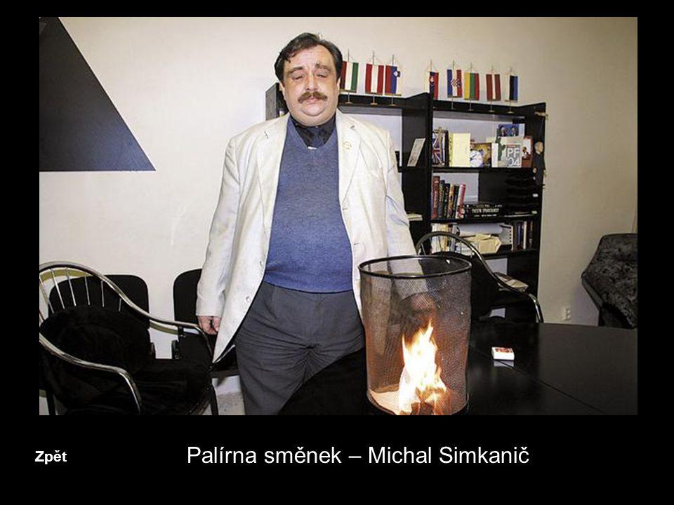 Palírna směnek – Michal Simkanič