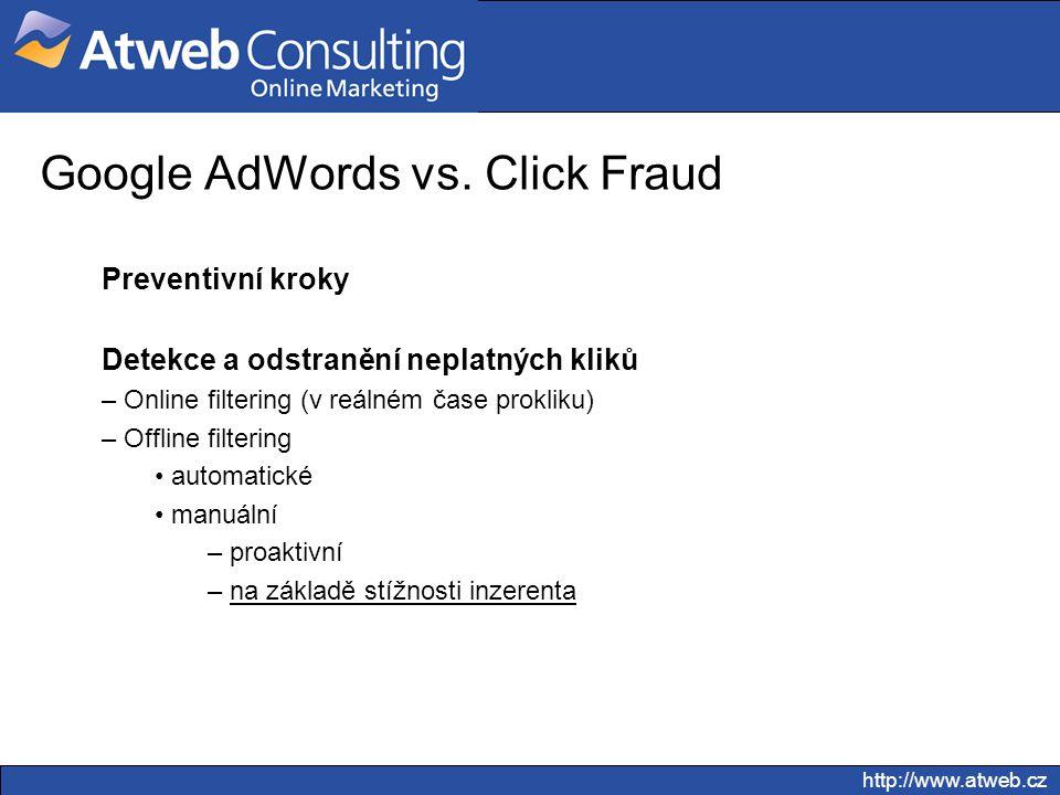 Google AdWords vs. Click Fraud