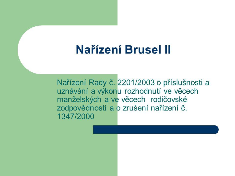 Nařízení Brusel II