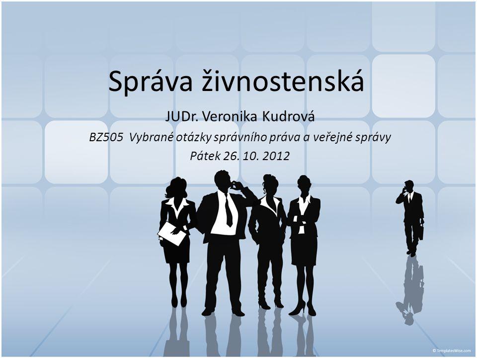 BZ505 Vybrané otázky správního práva a veřejné správy