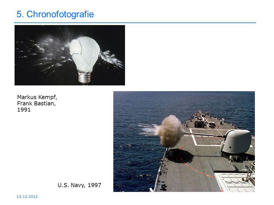 5. Chronofotografie Markus Kempf, Frank Bastian, 1991 U.S. Navy, 1997