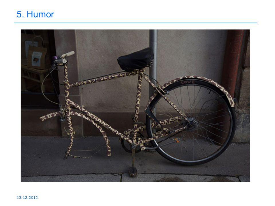5. Humor 13.12.2012