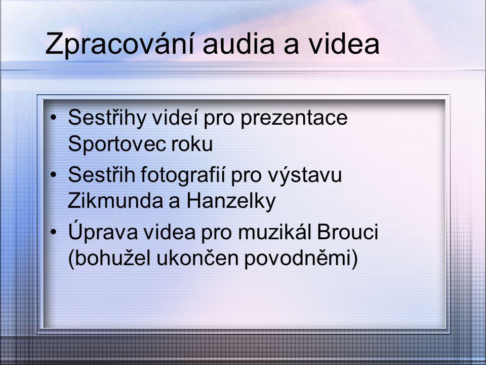 Zpracování audia a videa