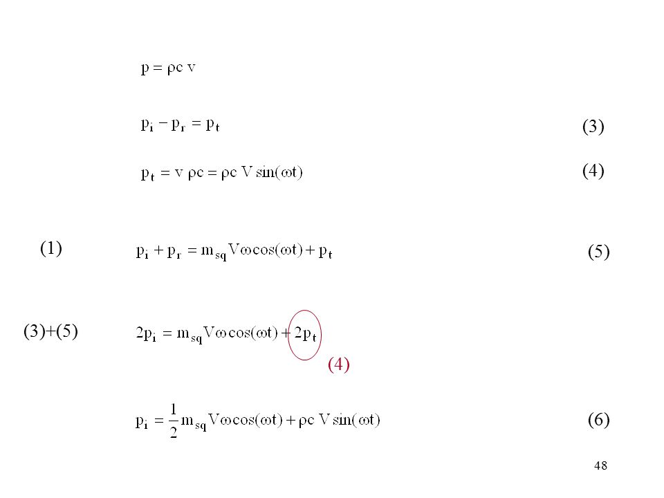 (3) (4) (1) (5) (4) (3)+(5) (6)