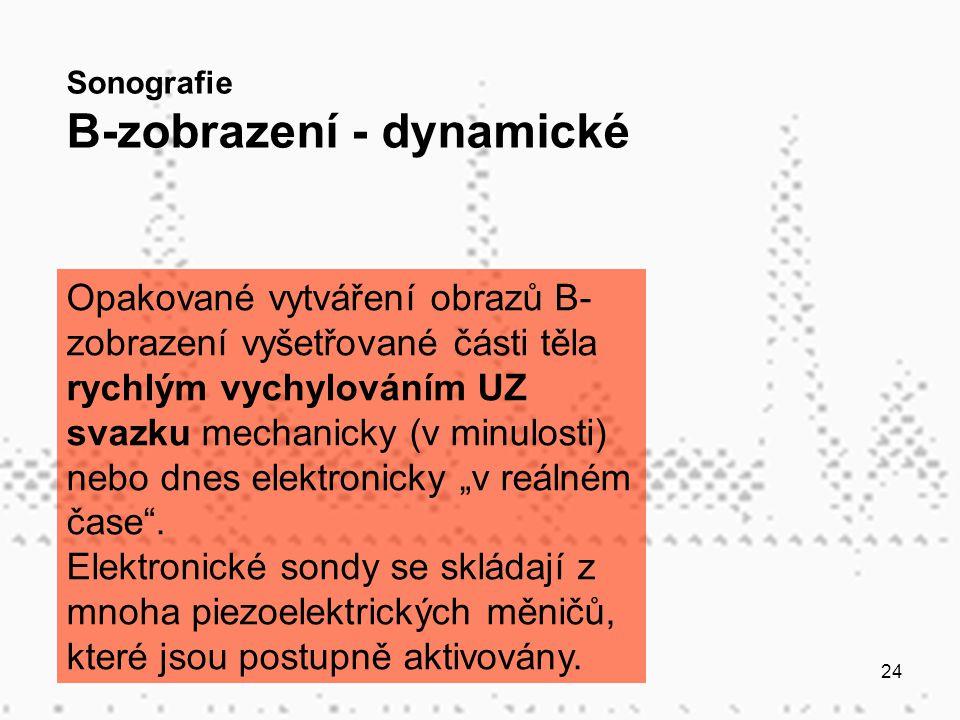 B-zobrazení - dynamické
