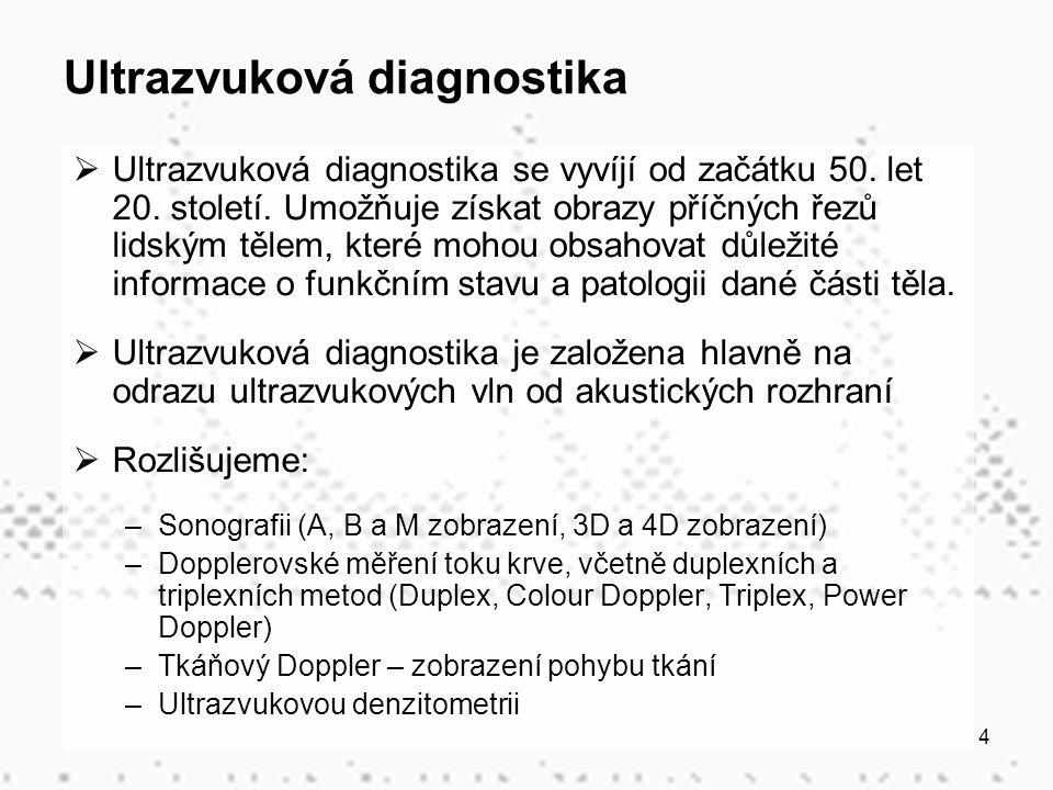 Ultrazvuková diagnostika