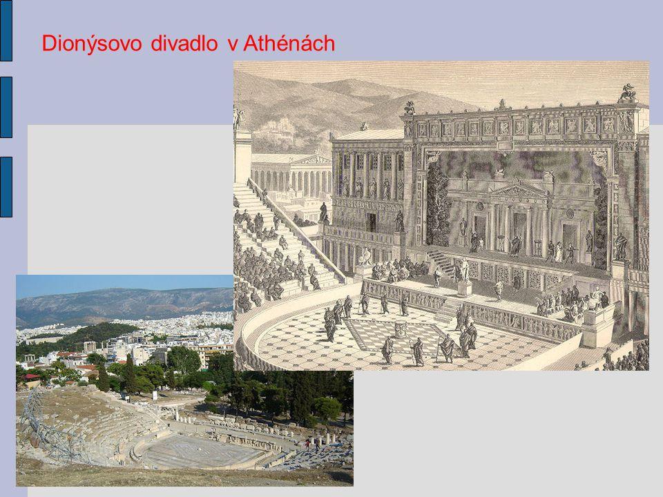 Dionýsovo divadlo v Athénách