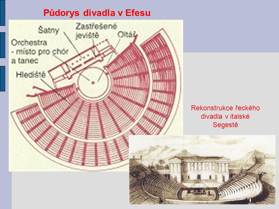 Půdorys divadla v Efesu