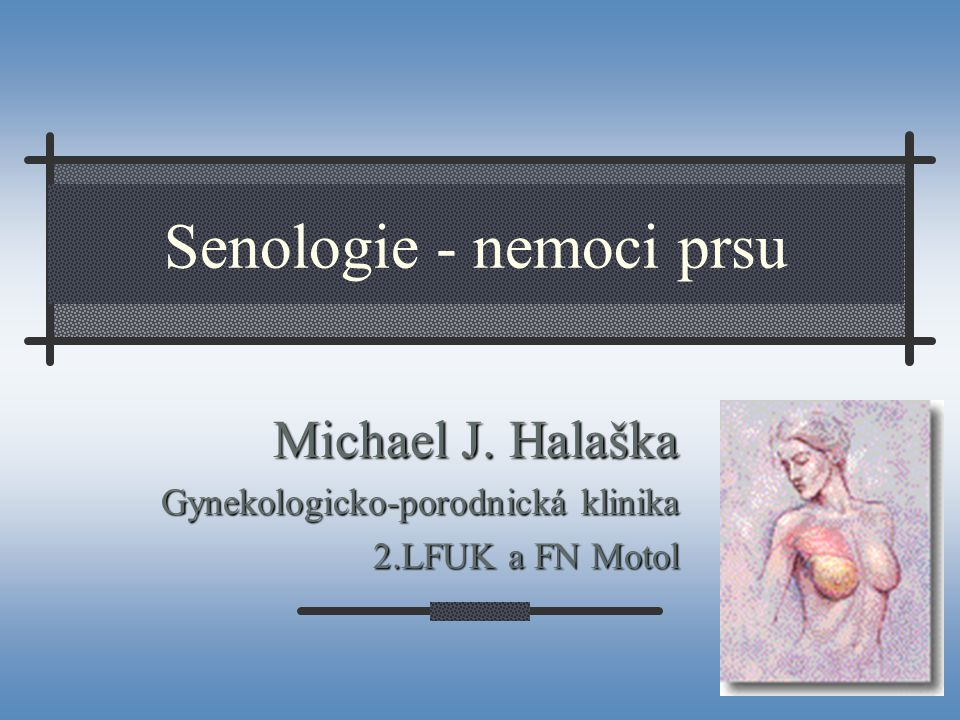 Senologie - nemoci prsu