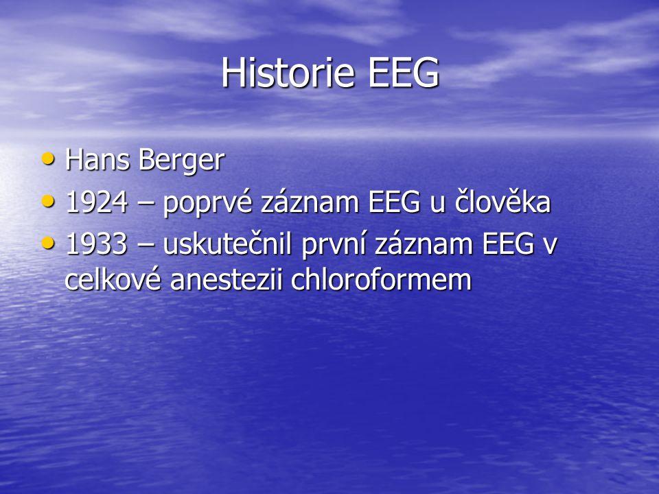 Historie EEG Hans Berger 1924 – poprvé záznam EEG u člověka