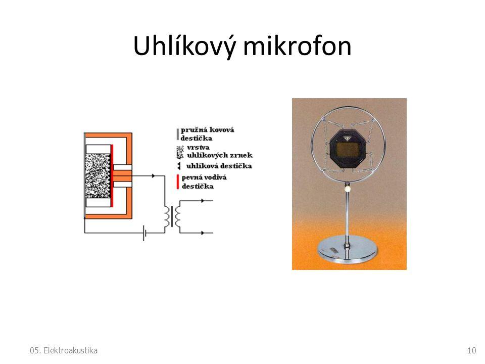 Uhlíkový mikrofon 05. Elektroakustika