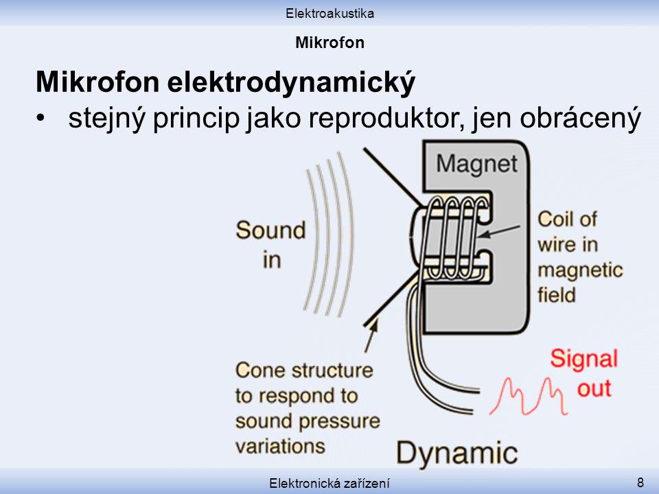 Elektronická zařízení