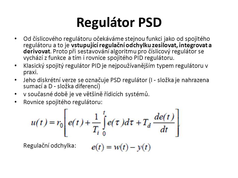 Regulátor PSD