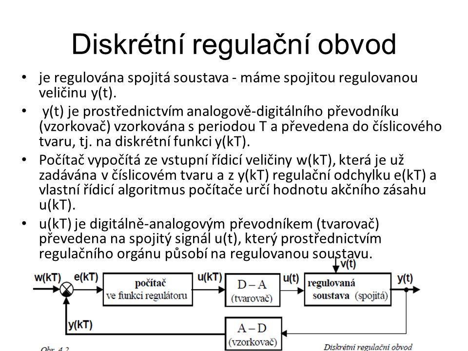 Diskrétní regulační obvod